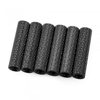 Lumenier 25mm Aluminum Textured Standoffs (Set of 6, Choose Color)