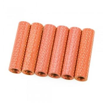 Lumenier 20mm Aluminum Textured Standoffs (Set of 6, Choose Color)