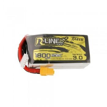 Tattu R-Line V3.0 1800mAh 4s 120c Lipo Battery