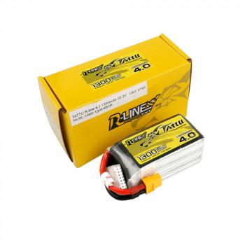 Tattu R-Line V4.0 1300mAh 6s 130c Lipo Battery