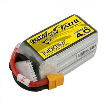 Tattu R-Line V4.0 1400mAh 6s 130c Lipo Battery