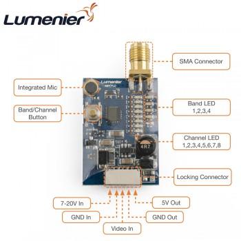 Lumenier TX5G6R 600mW 5.8GHz VTX w/ Raceband (Pigtail SMA)
